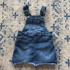 toddlers overalls skirt